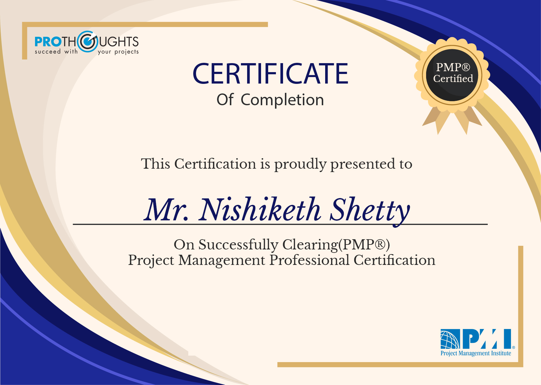 Mr. Nishikesh Shetty